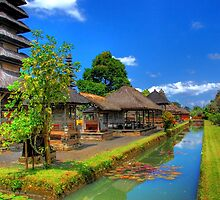 Balinese Temple by Charuhas  Images