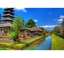 Balinese Temple Photographic Print
