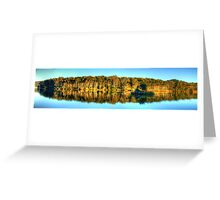 Narrabeen Reflections - Narrabeen Lakes, Sydney, Australia - The HDR Experience Greeting Card