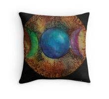 mother maiden crone Throw Pillow