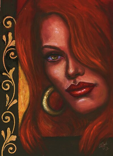 Redhead by Alga Washington