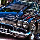 58 Chevy Corvette by Paul Kepron - ÐΛRКSIDΞR
