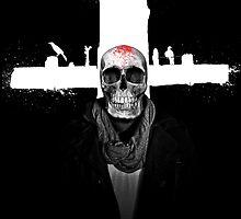 Human Skull by Luis Alejandro Valenzuela Teran