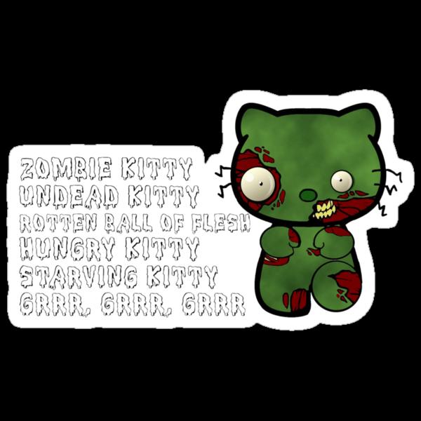 Zombie Kitty by Rayzilla79