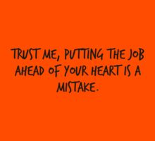 """Mike Royce's letter: """"Trust me, putting the job ahead of your heart is a mistake."""" Kids Clothes"""