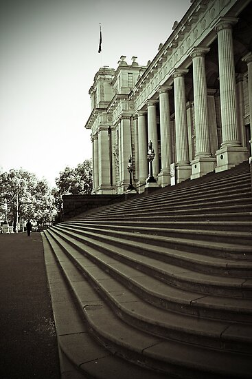 Parliament House - Melbourne by pbclarke