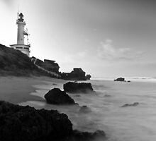 light house at point lonsdale by ketut suwitra