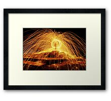 The Ball of Fire Framed Print