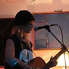 Chambers Cafe - Playing A Guitar 5 by rsangsterkelly