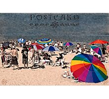 Rainbows by the sea Photographic Print
