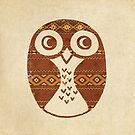 Navajo Owl  by Terry  Fan