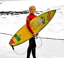 junior surfer by ketut suwitra