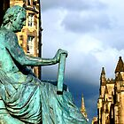 Edinburgh Royal Mile ~ Statue of David Hume by ©The Creative  Minds