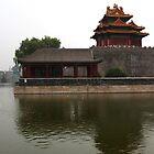 Forbidden City - Corner Towers by GayeL Art