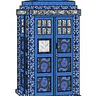 Paisley TARDIS by Owen  Cheshire