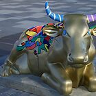 Let&#x27;s Mooooooove Ahead Together, Ebrington, Derry by George Row