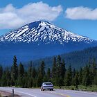 Mt Bachelor Oregon  by Don Siebel
