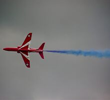 Red Arrow Flying Solo by JordanHembrow