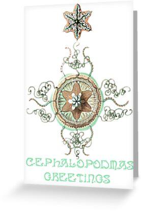 Cephalopodmas Greetings by KaliBlack