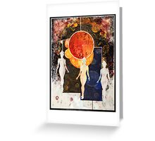 Universe Review Panel Greeting Card