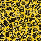 Yellow. Robots. by Ekaterina Panova