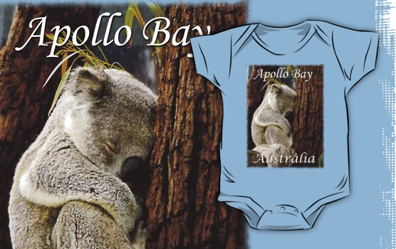 Koala Apollo Bay, Victoria, Australia Tee Shirt by Julia Harwood