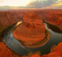 On The Edge - Horseshoe Bend ©  by © Hany G. Jadaa © Prince John Photography