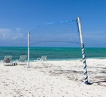 Beach volleyball. by Anne Scantlebury