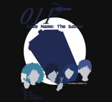 Code Name: The Doctor BlueTone by Comic Sneakers