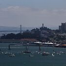 Sailing in the Blue of San Francisco by fototaker