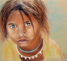 Indian girl by ReniART