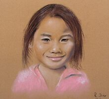 girl from laos by ReniART