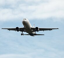 Aircraft in the air by mrivserg
