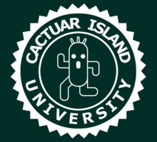 Cactuar Island University (round white) by karlangas