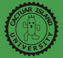 Cactuar Island University (round black) by karlangas