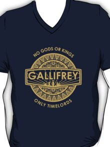 Gallifrey - No Gods or Kings, only Timelords T-Shirt