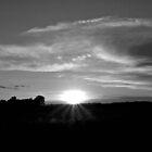 Prairie Sunset by Scott Hendricks