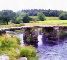 Postbridge, Dartmoor, Devon, UK by Mdgraphix