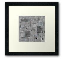 Industrial Tiles Framed Print