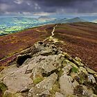 Dark Skies Over Mam Tor Ridge by Mat Robinson
