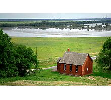 The View from Dickson Mounds, Illinois Photographic Print