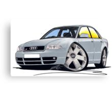 Audi S4 (B5) Silver Canvas Print