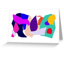Steady Smile Much Income Happy Face Greeting Card