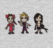 Final Fantasy Cartoons by lulujweston