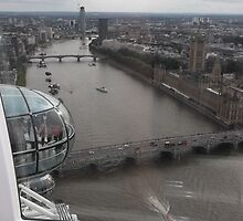 London Eye/Thames Riverside view -(260812)- Digital photo by paulramnora