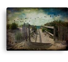 Seaside rendez-vous Canvas Print