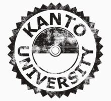 Kanto University (black vintage) by karlangas