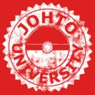 Johto University (white vintage) by karlangas
