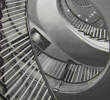 """""""Spiral Staircase"""" by Rik Kent"""