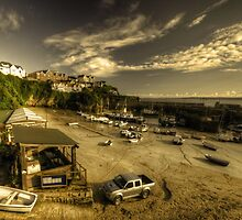 Dawn over Newquay Harbour by Rob Hawkins